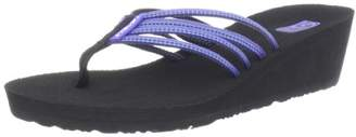 Teva Women's Mush Adapto Wedge Flip Flop