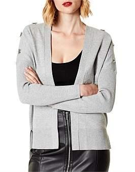 Karen Millen Open Front Cardigan