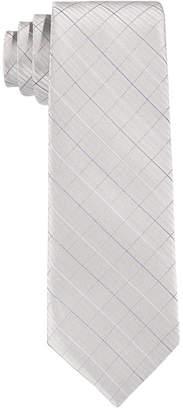 Calvin Klein Etched-Grid Tie, Big Boys