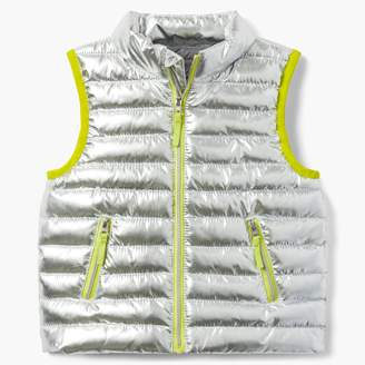 Gymboree Metallic Puffer Jacket