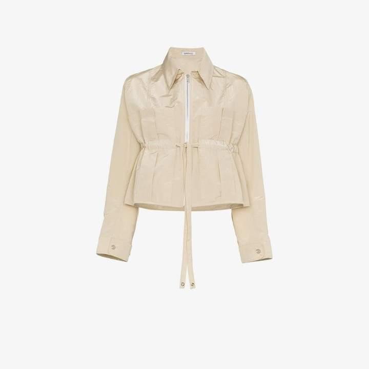 Supriya Lele Cropped drawstring jacket