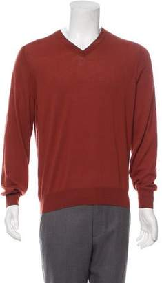 Brunello Cucinelli Wool V-Neck Sweater