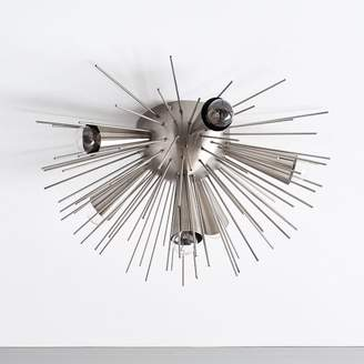 west elm Sputnik Flushmount - Blackened Nickel