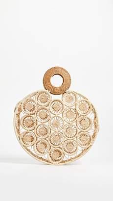 Cult Gaia Large Round Straw Bag