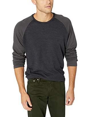 Velvet by Graham & Spencer Genaro Men's Long Sleeve Raglan Jersey Shirt