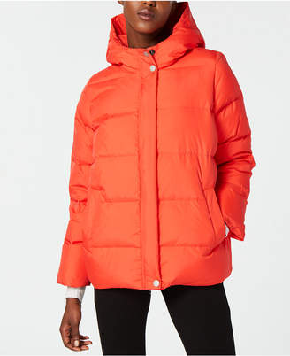Eileen Fisher Hooded Down Jacket, Regular & Petite