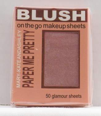 Mary-Kate And Ashley Mary-Kate & Ashley Paper Me Pretty Blush Makeup Sheets - Flushed