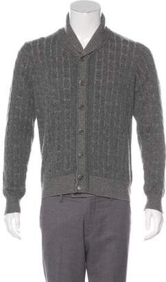 Loro Piana Cashmere Shawl Collar Sweater