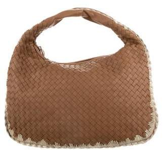 Bottega Veneta Medium Intrecciato Hobo Brown Medium Intrecciato Hobo
