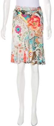 Blumarine Patterned Knee-Length Skirt