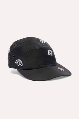 adidas By Alexander Wang - Embroidered Ripstop Baseball Cap - Black