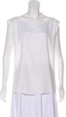 Alice + Olivia Silk Cap Sleeve Blouse