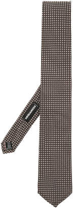 DSQUARED2 slim micro-grid tie