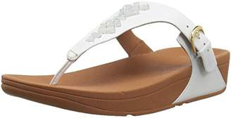 9cb1fc95a5d6a FitFlop Women s The Skinny Toe-Thong Sandals - Crystal