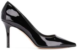The Seller vinyl classic pumps