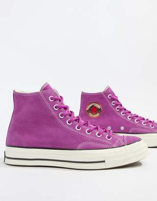 Converse Chuck Taylor All Star '70 Ox Sneakers In purple 162369C