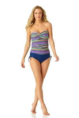 ff6d944ae6018 Catalina Women's Twist Front Bandeau Tankini Swimsuit