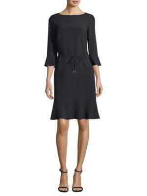 BOSS Henryke Ruffle-Sleeve Dress