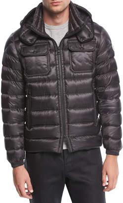 Moncler Valence Utility Jacket w/ Detachable Hood