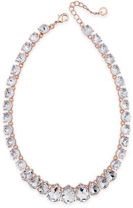 Charter Club Crystal Collar Necklace, Created for Macy's