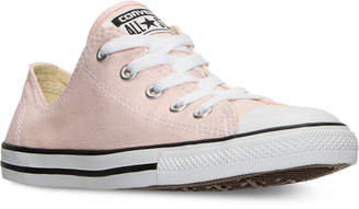 Converse Women's Chuck Taylor Dainty Casual Sneakers from Finish Line $54.99 thestylecure.com