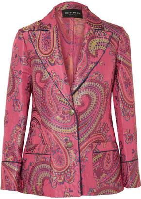 Etro Jacquard Blazer - Pink