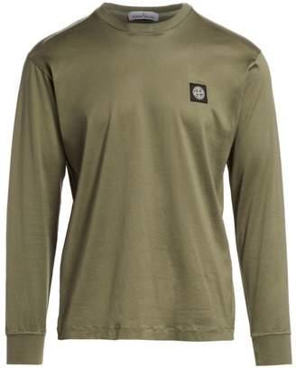 Stone Island Classic-Fit Logo Cotton T-Shirt