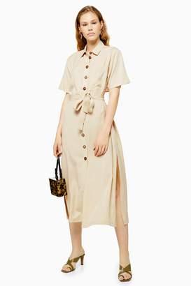 Topshop Stone Shirt Dress