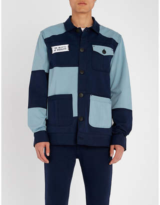 True Religion Colour-block denim jacket