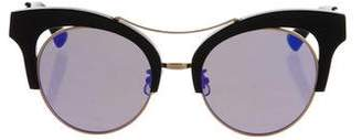 Gentle Monster Mirrored Round Sunglasses