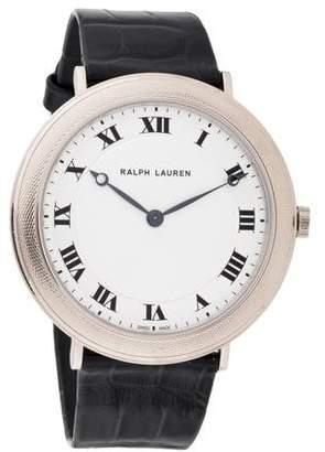 Ralph Lauren The Slim Classique Watch