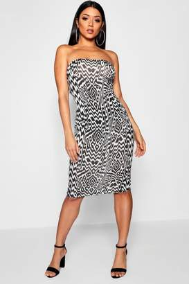 boohoo Aztec Print Mini Dress