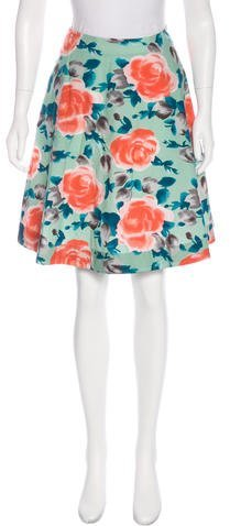 Marc by Marc Jacobs Floral Print Flare Skirt w/ Tags