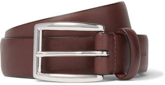 Polo Ralph Lauren 3cm Brown Leather Belt