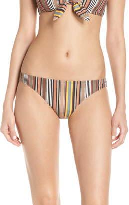 Tory Burch Stripe Hipster Bikini Bottoms