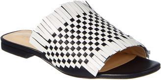 Isa Tapia Arietta Leather Flat Sandal