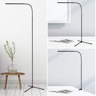 STUDY SLYPNOS Lavish Home LED Sunlight Floor Lamp With Dimmer Switch Tall Standing Modern Pole Light For Living Rooms & Offices - Dimmable Uplight For Bedrooms Living Room Office