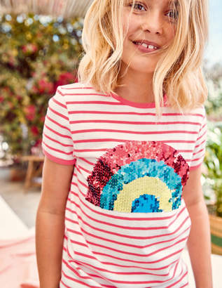 Boden Sequin Colour-change T-shirt