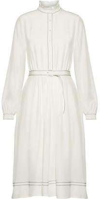Vanessa Seward éline Pleated Silk Dress - White