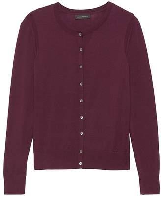 367e8044fb5 Banana Republic Washable Merino Cropped Cardigan Sweater
