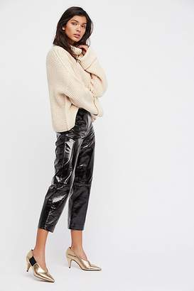 Just Female Patent Leather Pants