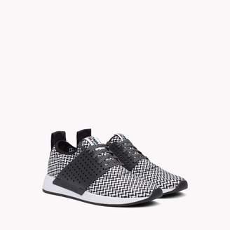 Tommy Hilfiger Check Knit Sneaker
