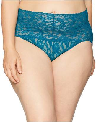 Hanky Panky Plus Size Signature Lace Retro V-Kini Women's Underwear