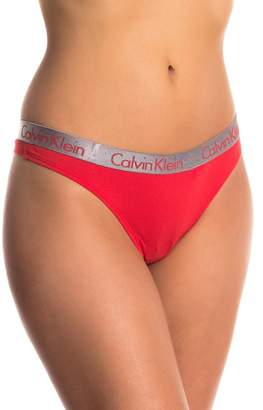 Calvin Klein Signature Thong - Pack of 2