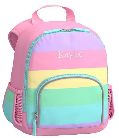 Pre-K Backpack, Fairfax Rainbow Stripe