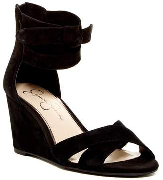 Jessica Simpson Camile Wedge Sandal $89 thestylecure.com