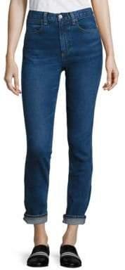 Rag & Bone Lou High-Rise Cuffed Skinny Jeans/Northwood