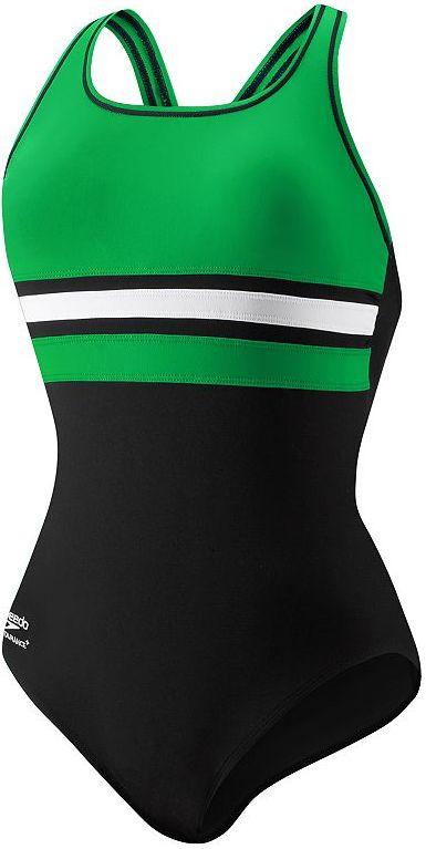 Speedo® colorblock one-piece swimsuit