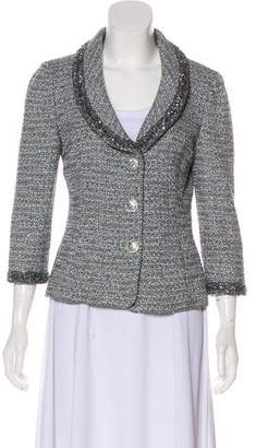 Couture St. John Embellished Knit Jacket