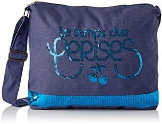 Le Temps Des Cerises Women's LTC8009 Shoulder Bag Blue